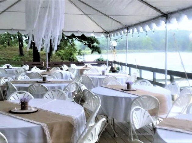 Big Tent with tables and decor (3)