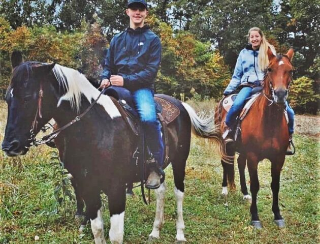 horseback riding available, advanced reservations required