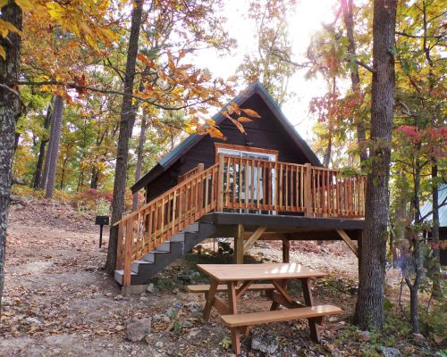 On The Rocks Primitive Cabin