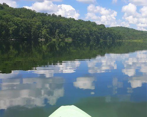 60-acre private lake