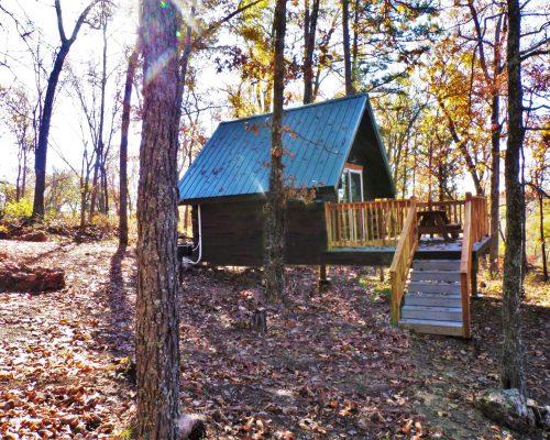 Dogwood primitive cabin